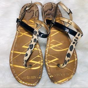 Sam Libby Sandals size 9